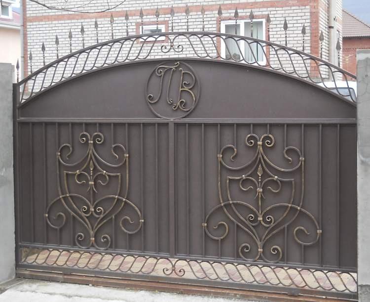 Fabricant portail fer forg villa au maroc rabat - Portillon en fer forge ...